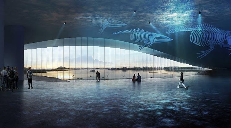 На севере Норвегии построят туристический комплекс в форме кита
